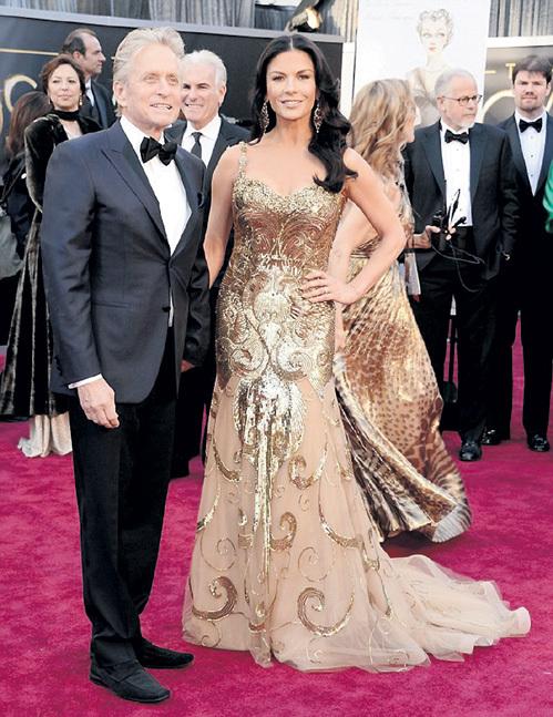 Майкл ДУГЛАС и Кэтрин ЗЕТА-ДЖОНС по-прежнему выглядят счастливой парой