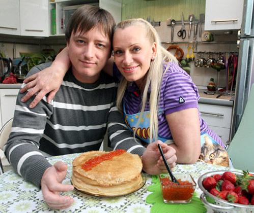 Наталья ГУЛЬКИНА с сыном Алексеем