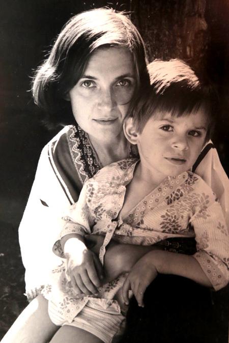 Ольга ГОБЗЕВА с сыном Святославом