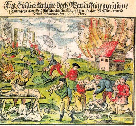 Европейская цивилизация в Средние века прошла через массовый каннибализм. Чтобы выжить, голодные крестьяне были вынуждены есть друг друга, а потом уже придумали сказки про вампиров
