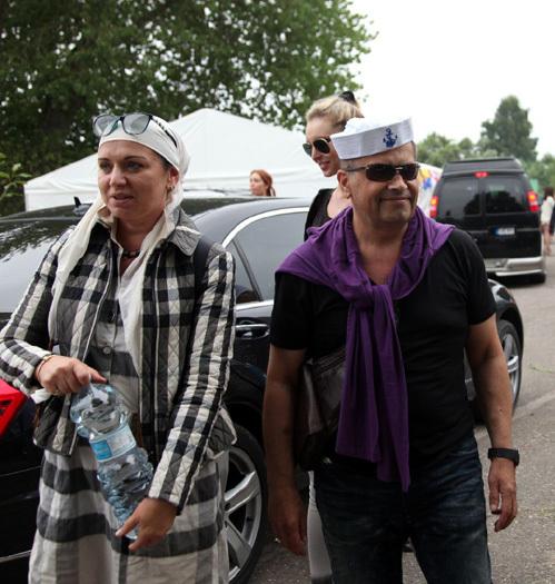 Николай РАСТОРГУЕВ с женой