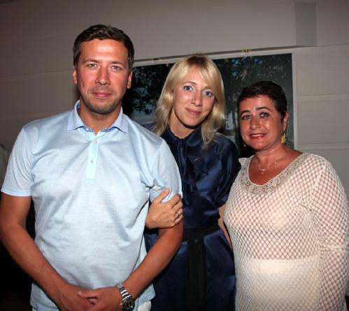 Андрей МЕРЗЛИКИН с женой Анной, Ирина ВИТОРГАН