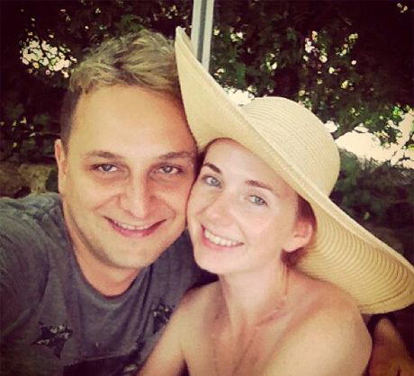 Лена КАТИНА вышла замуж за словенского музыканта Сашо