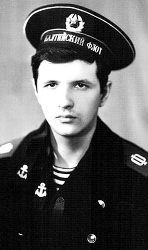 Сергей УСКОВ в молодости был отважным моряком