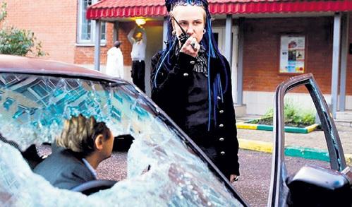 В «Брачных танцах» МИХАЛКОВ играет отца героини Полины ВИТОРГАН (на фото с шок-режиссёром). Фото: Фото RWS
