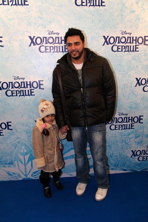 Александр БЕРДНИКОВ с дочкой