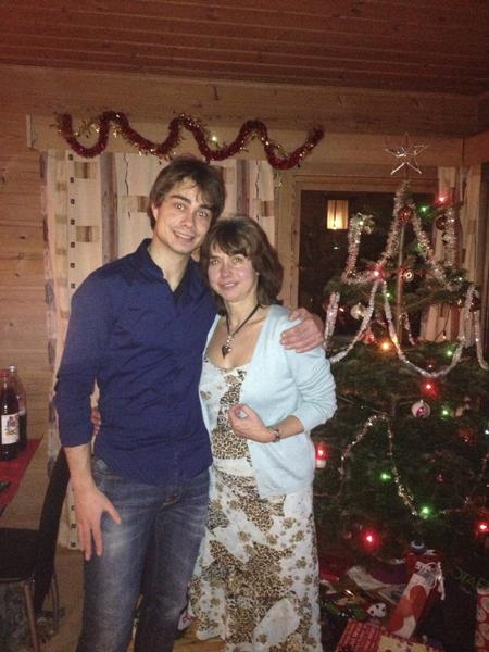 Александр РЫБАК с мамой