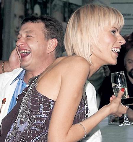 Бывшая жена артиста Лиза КРУЦКО осталась для него близким другом