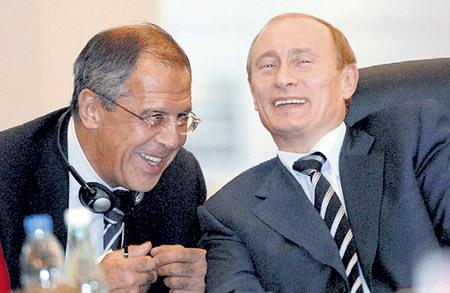 Геополитический тандем Владимира ПУТИНА и Сергея ЛАВРОВА... Фото: © Reuters