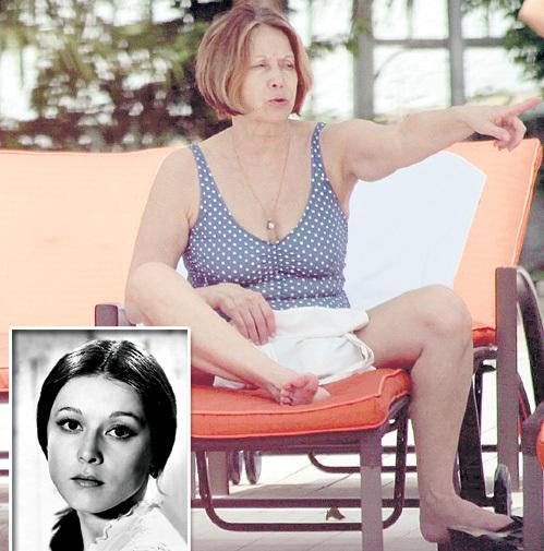 Елена ПРУДНИКОВА, некогда блиставшая в кино, теперь украшала собой спа-террасу отеля «Жемчужина»