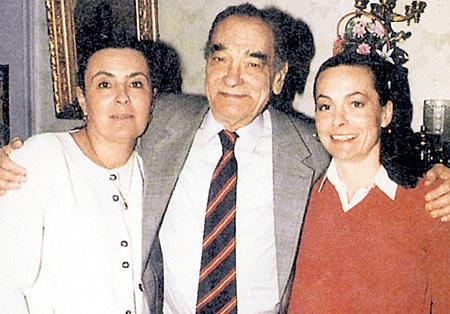 Знаменитый Пётр ГЛЕБОВ с дочерьми Еленой и Ольгой - второй женой БЭЛЗЫ