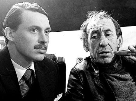 Сын ФАТЕЕВОЙ со своим великим папой. Вот уже 27 лет, как ушёл Владимир БАСОВ-старший… Как быстро летит время!