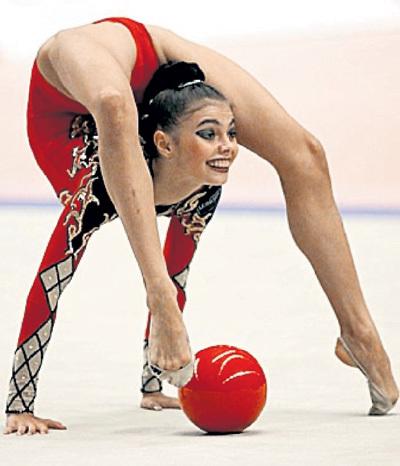 Алину шесть раз признавали лучшей гимнасткой мира