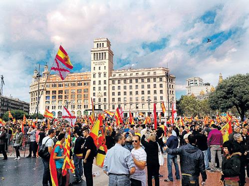 Каталонцы давно отстояли свои права, причём мирным путём