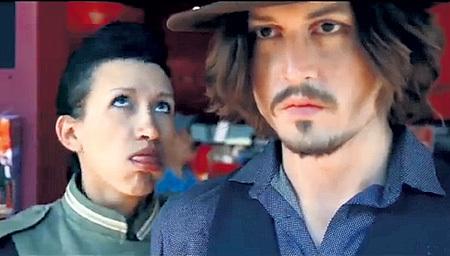 Кадр из клипа «Кастинг»