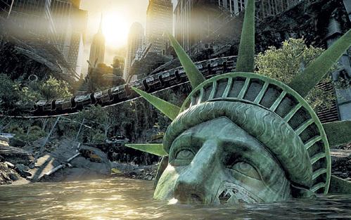 Самый узнаваемый символ Северной Америки рискует уйти под воду