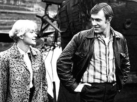 На картине «Иванов катер» у актрисы случился роман с актёром Юрием ОРЛОВЫМ