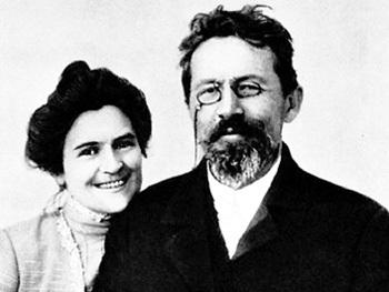 Чехов женился всего раз - на О. Л. КНИППЕР. Но в молодости озорник был еще тот!