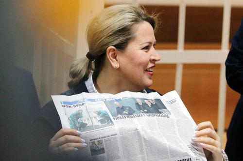 Евгения ВАСИЛЬЕВА (Фото: РИА Новости)