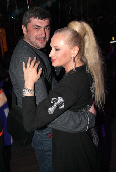 Наталья ГУЛЬКИНА со своим директором Лионом КУАШЕВЫМ