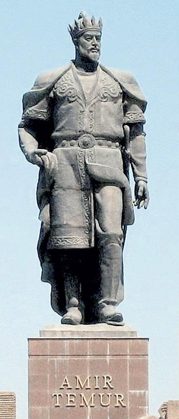 Узбеки сделали тирана и живодёра уважаемой исторической персоной. Его памятники понатыканы повсюду...