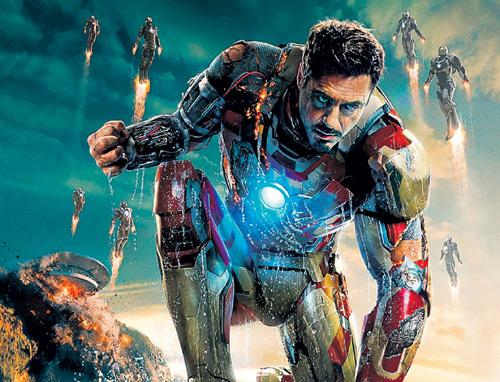 Роберт ДАУНИ-мл. сыграл в «Железном человеке» симбиоз гуманоида с роботом. И в третий раз стал самым высокооплачиваемым актёром Голливуда ($80 млн. за год)