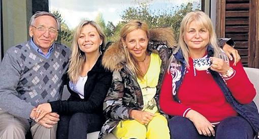 Мама, папа и сестра любят гостить у Татьяны. Фото: Instagram.com