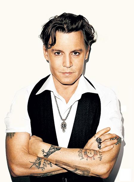Джонни  в журнале «Vanity Fair» (2011 г.)