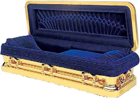 Денег Майкла ДЖЕКСОНА хватило его родственникам на гроб из чистого золота