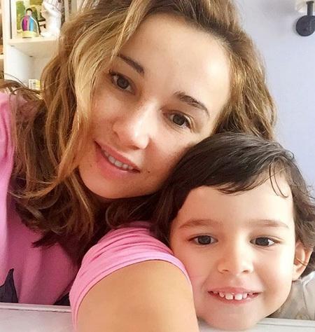 Анфиса ЧЕХОВА с сыном. Фото: Instagram.com