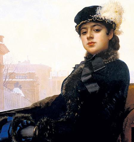 Иван КРАМСКОЙ «Неизвестная», 1883 г.