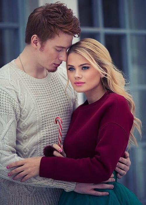 Никита ПРЕСНЯКОВ со своей девушкой Алёной (фото Instagram.com)