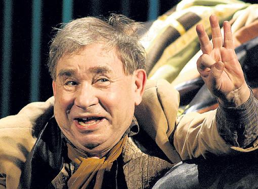 Любимец публики Михаил СВЕТИН был настоящим королем смеха. Фото: fontanka.ru