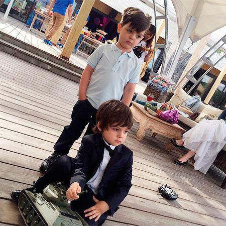 Мартин КИРКОРОВ и Саша СТОЦКИЙ (Фото: instagram.com)
