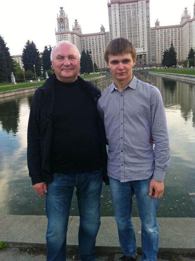 Владимир ГРИГОРЕНКО с пасынком (Фото:<a href=