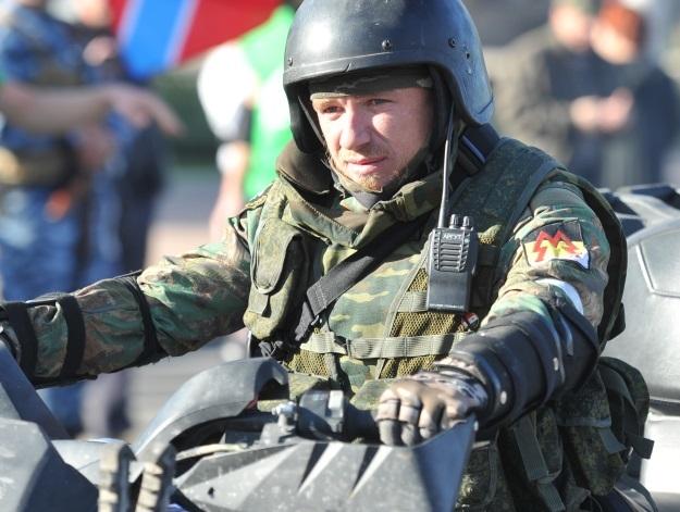 Моторола на площади Ленина (Фото: Виктор Гусейнов/