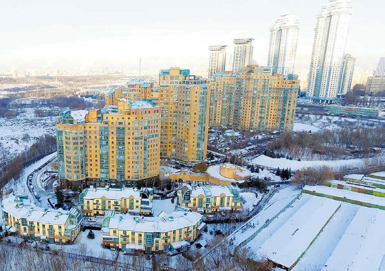 Элитное жильё Алексея Валентиновича превратилось в место заточения. Фото Руслана ВОРОНОГО