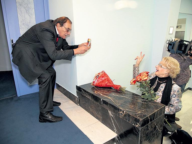 Легендарный кинооператор Анатолий МУКАСЕЙ неутомимо фотографировал жену - Светлану ДРУЖИНИНУ