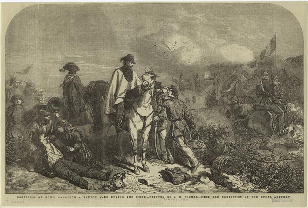 Оборона Римской республики, провозглашенной Джузеппе Гарибальди 5 февраля 1849 года. ФОТО: Pixabay.