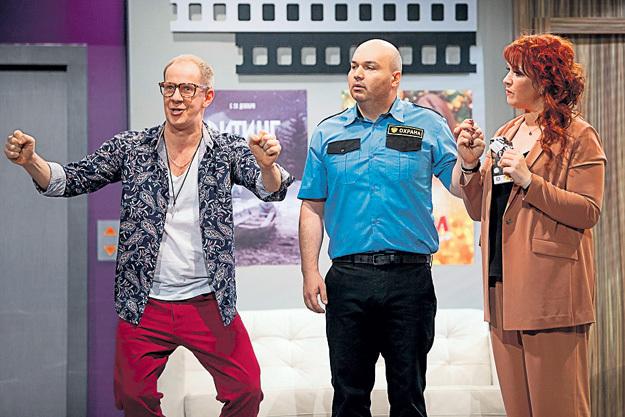 С Ольгой КАРТУНКОВОЙ (справа). Фото: Пресс-служба ТНТ