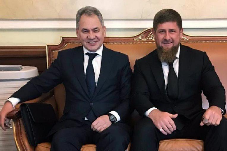 Глава Минобороны Сергей Шойгу и глава Чечни Рамзан Кадыров. Источник: Instagram Рамзана Кадырова