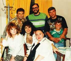 Шифрин, Кальянов, Мускатин с сыном, Пугачева, Киркоров, Бабкина: в офисе