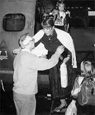 1991 ГОД: встреча с семьей после 6 лет разлуки