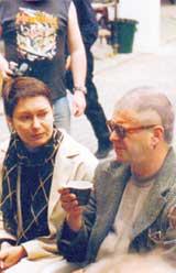 БОРИС ГРЕБЕНЩИКОВ: с женой Ириной