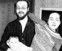 БОРИС ЛИВАНОВ: с любимой женщиной Катей и дочкой Евой