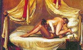 ПОЗА 69: ты - мне, я - тебе (картина анонимного французского художника, масло, XVIII век)