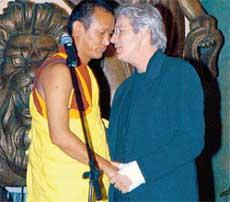 РИЧАРД - БРАТУ ПО ВЕРЕ: &#034Ты правда самого Будду видел?&#034