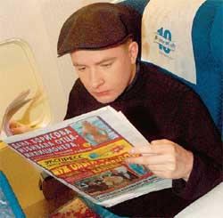 АНДРЕЙ ДАНИЛКО: знает, из какой газеты черпать самую достоверную информацию