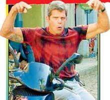 ЛИХОЙ БАЙКЕР: актер любит гонять по ночному Рио на мотоцикле
