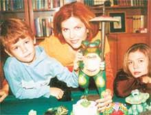 МАМА: актриса сама удивляется, насколько ее дети разные по характеру